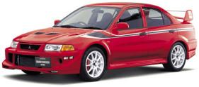 Mitsubishi Lancer Evolution VI GSR Tommi Makinen {GF-CP9A} 1999