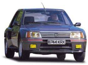 Peugeot 205 Turbo 16 1984