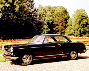 Peugeot 404 C Coupe Super Luxe 1968