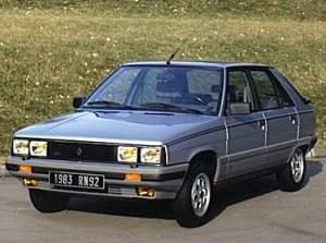 Renault 11 GTX 1982