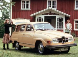 Saab 95 Estate 1976