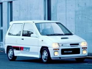 Subaru Rex Combi Super Charger ECVT 1989