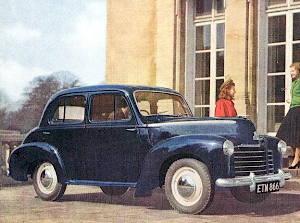 Vauxhall Velox 1948
