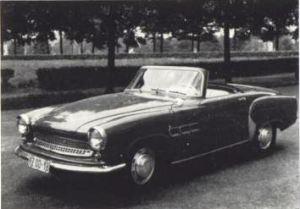 Wartburg Sports Convertible 1957