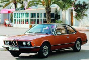 BMW 630 CS {E24} 1976