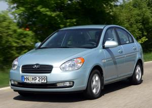 Hyundai Accent 1.4 Saloon Automatic 2007