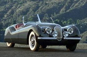 Jaguar XK 120 SE Roadster 1948