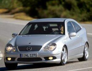 Mercedes-Benz C 32 AMG Sports Coupé 2002