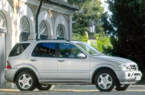 Mercedes-Benz ML 55 AMG {W 163} 2001