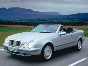 Mercedes-Benz CLK 320 Cabriolet {A 208} 1998
