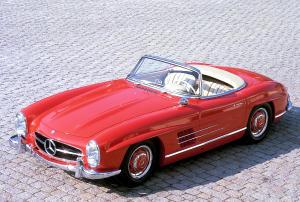 Mercedes-Benz 300 SL Roadster {W 198 II} 1957