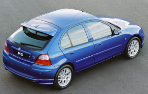 MG ZR TD 2002