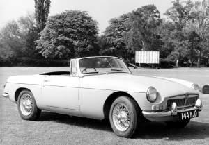MG B 1962